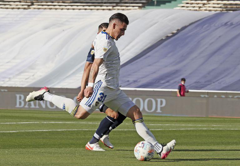 Cristian Pavón, otro de los delanteros de Boca a los que les está costando convertir