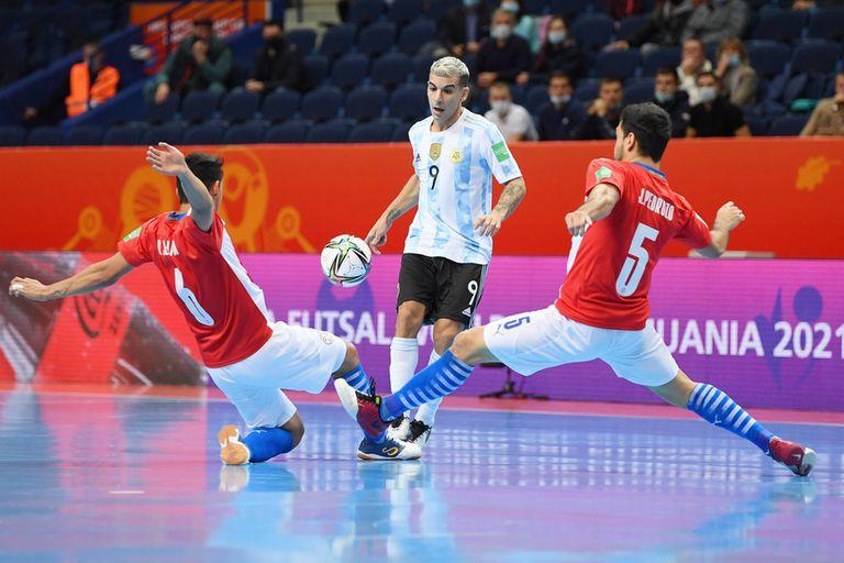 Mundial de futsal: la selección superó a Paraguay y ya está en cuartos de final