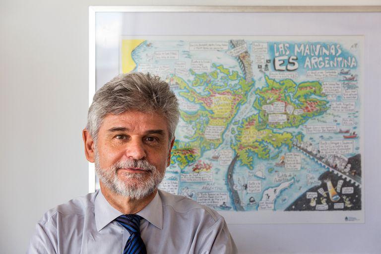 El secretario de Malvinas, Antártida y Atlántico Sur, Daniel Filmus, impulsa los proyectos del oficialismo en el Congreso