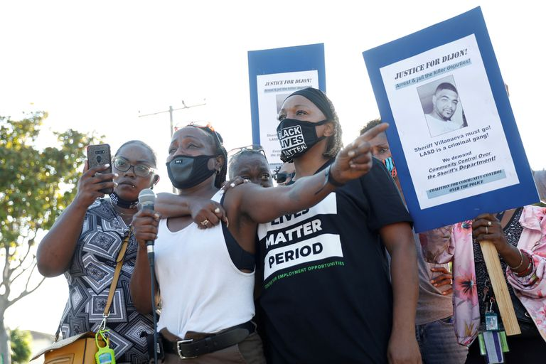 Protestas por la muerte de Dijon Kizzee en Los Ángeles