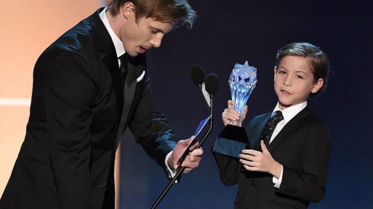 Jacob Tremblay, el mejor actor joven del año
