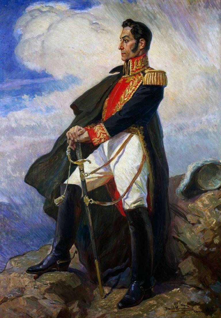 Retrato pintado por Daniel Hernández que se encuentra en el Museo de Arte de Lima