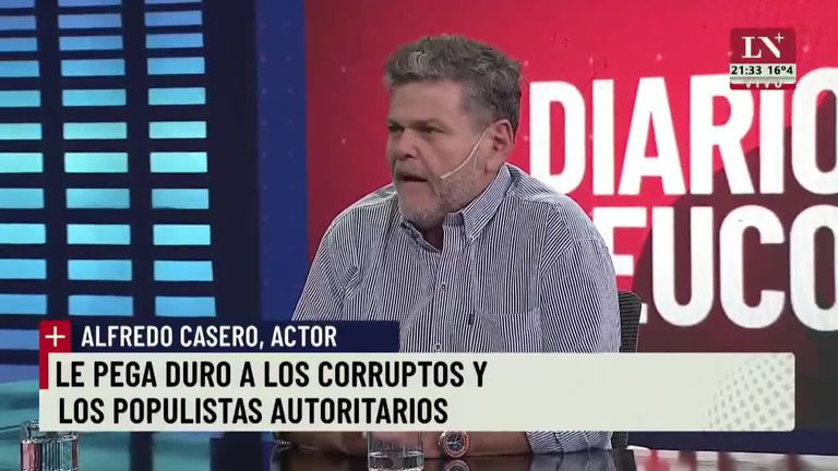 Alfredo Casero criticó al gobierno por el manejo de la pandemia