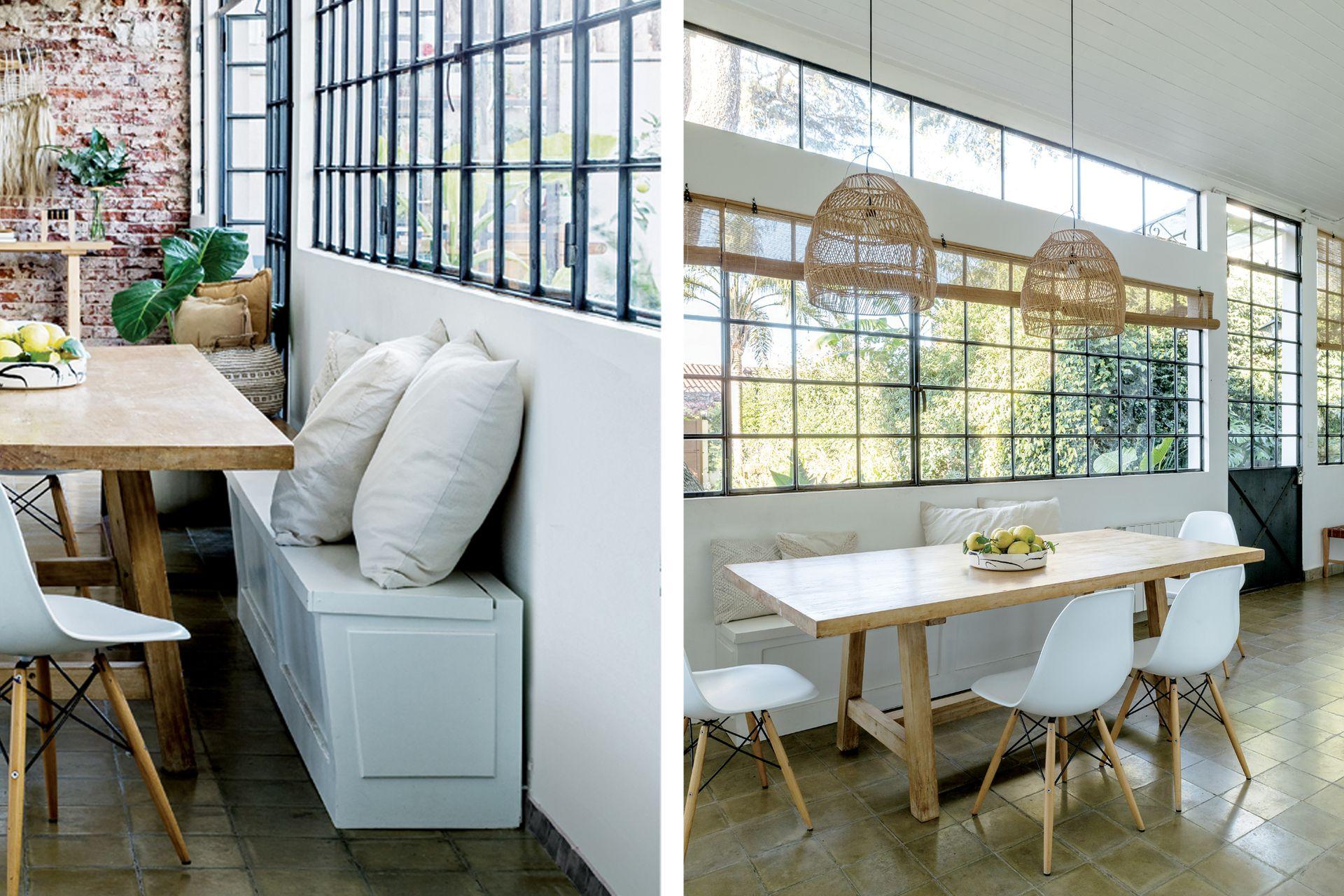 Los dueños de casa aseguran que volverían a elegir el vidrio repartido. También advierten que requiere de un buen sistema de climatización.