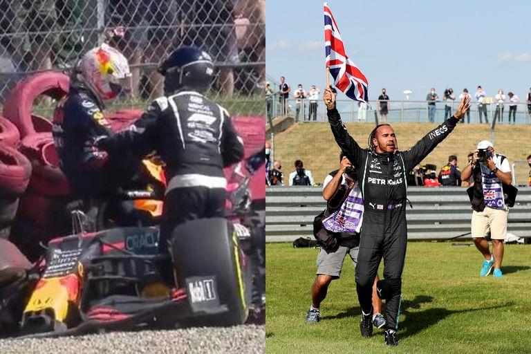 Hamilton contraataca: dice que toda la culpa es de Verstappen y puso de ejemplo a Leclerc