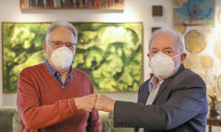 Carodoso y Lula, en la reunión en San Pablo