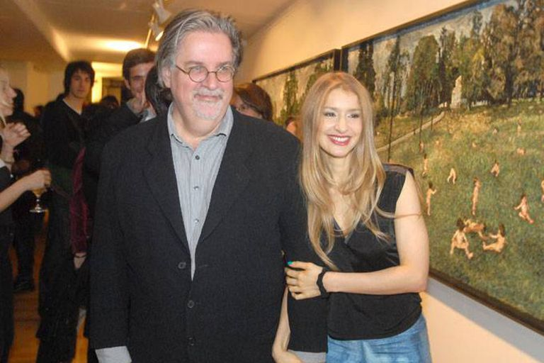 Agustina Picasso y Matt Groening