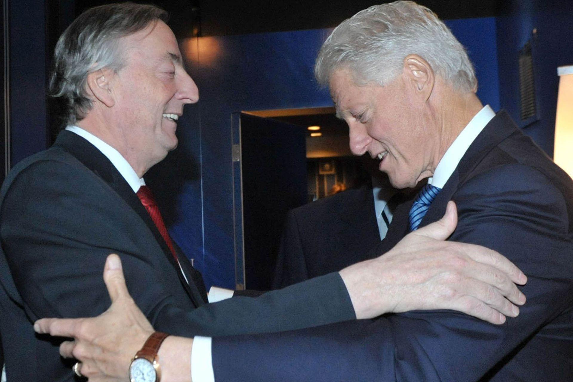 En Nueva York y como secretario general de Unasur, Néstor Kirchner se reunió con el expresidente Bill Clinton
