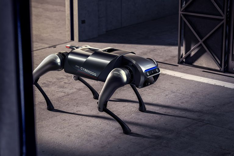 Xiaomi presentó un robot de compañía parecido a un perro