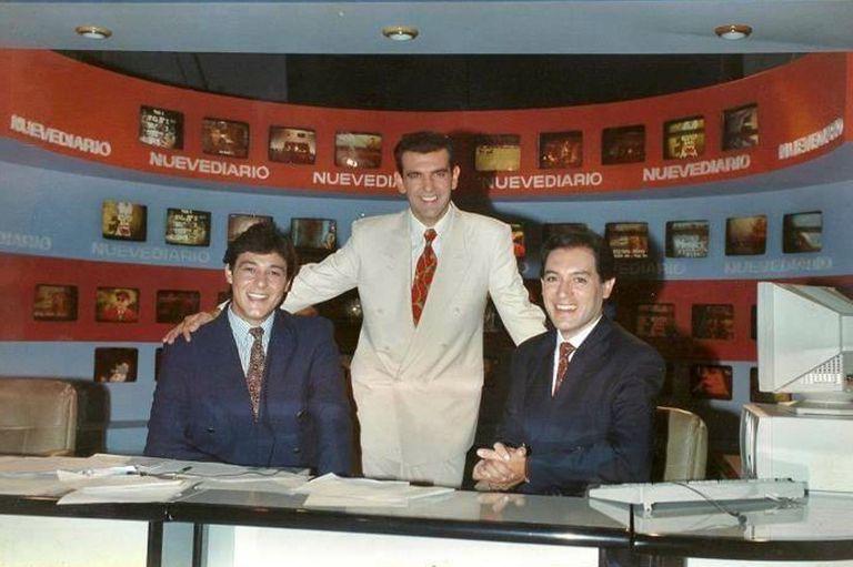 Guillermo Favale, Sergio De Caro y Juan José Maderna, las caras jóvenes de Nuevediario