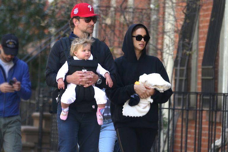 Bradley Cooper, Irina Shayk y su hija disfrutaron de una tarde de juegos