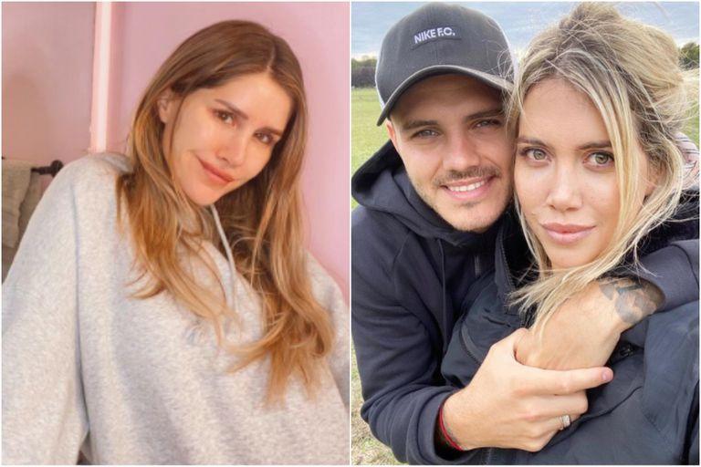 Mica Tinelli se hizo eco de los rumores de crisis entre Wanda y Mauro Icardi con un fuerte mensaje