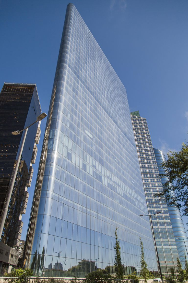 El nuevo edificio de IRSA