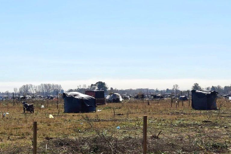 Las tomas de tierras, una metodología que se agravó en la cuarentena