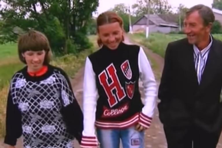 A pesar del trauma, Oxana buscó conocer a sus familiares
