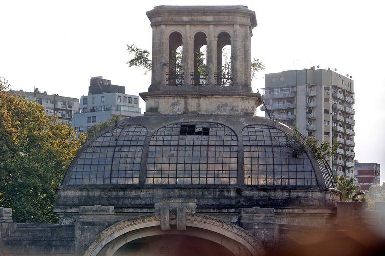 La cúpula del Pabellón del Centenario también sufrió un gran deterioro en los últimos años, al igual que el resto de su estructura