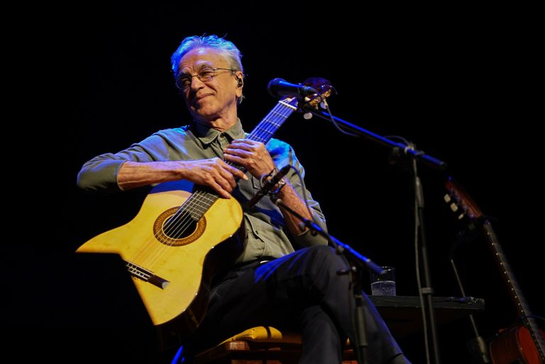 Caetano en Buenos Aires, en el primero de sus dos shows porteños de la semana pasada