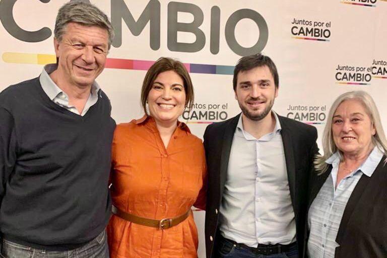 Gustavo Menna, Ana Clara Romero, Ignacio Torres y Edith Terenzi