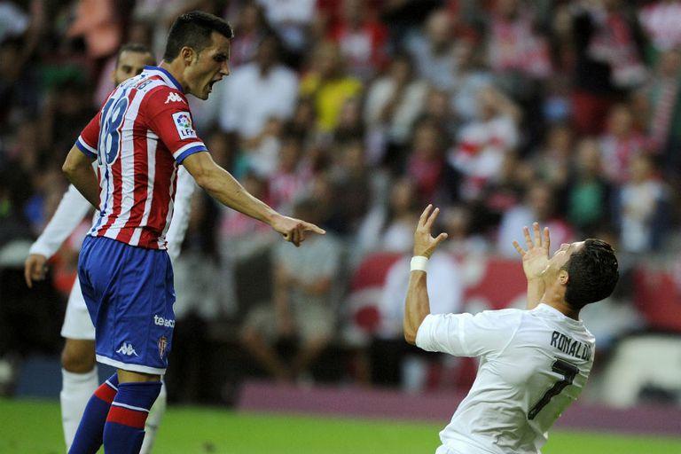 Cristiano Ronaldo no tuvo una buena noche en Asturias