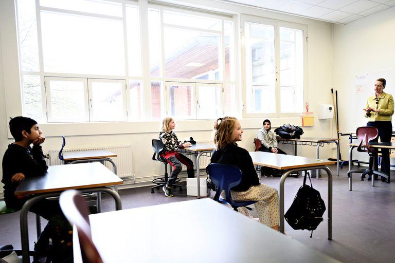 El retorno a clases en Dinamarca