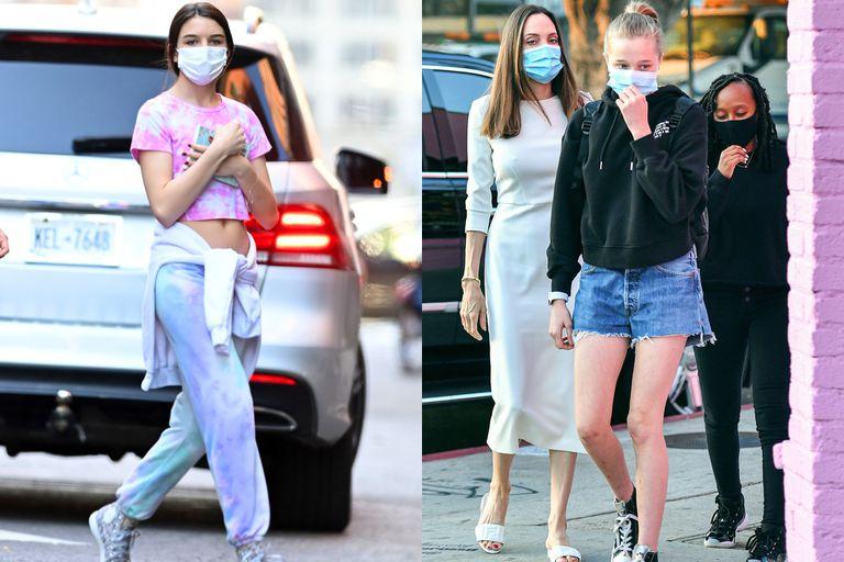 Las últimas fotos de Suri Cruise y Shiloh Jolie Pitt, tomadas hace pocas semanas, justo antes de que cumplan 15 años