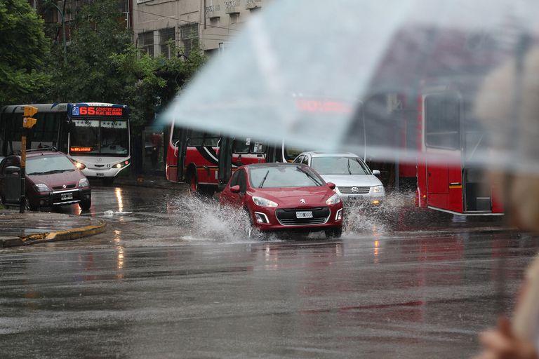 Clima: es el tercer junio más lluvioso desde 1906