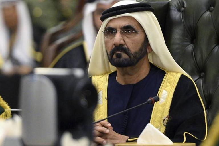 Mohamed bin Rashid Al Maktum, emir de Dubai, primer ministro y vicepresidente de los Emiratos Árabes Unidos.