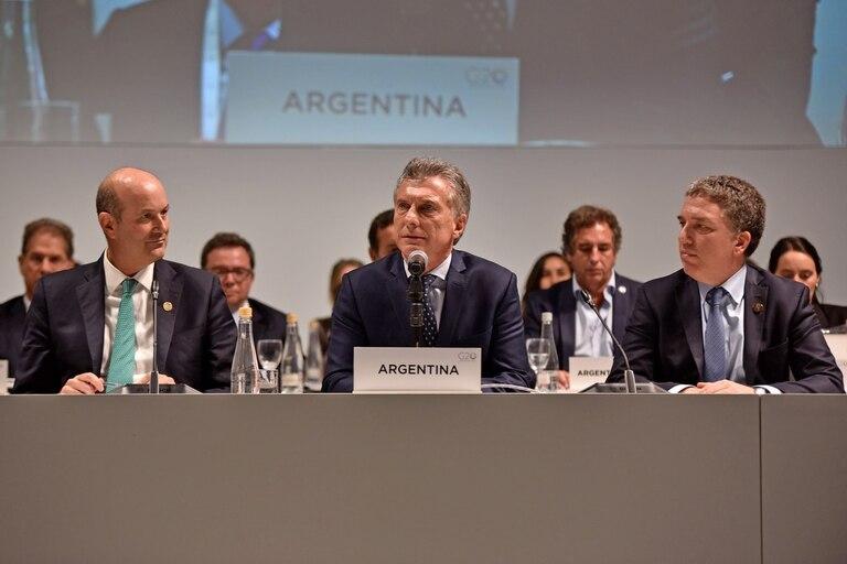 El Presidente habló en el cierre de las primeras reuniones de ministros de Finanzas y presidentes de Bancos Centrales del grupo de los 20
