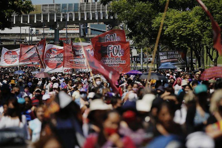 Cortes: los piqueteros reclaman un lugar en el Consejo Económico y Social