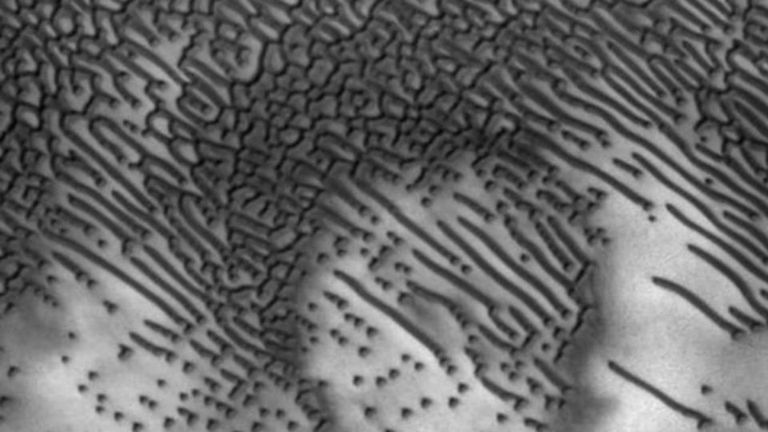 No es la primera vez que se observa la región pero las imágenes recientes muestran más detalles en alta resolución