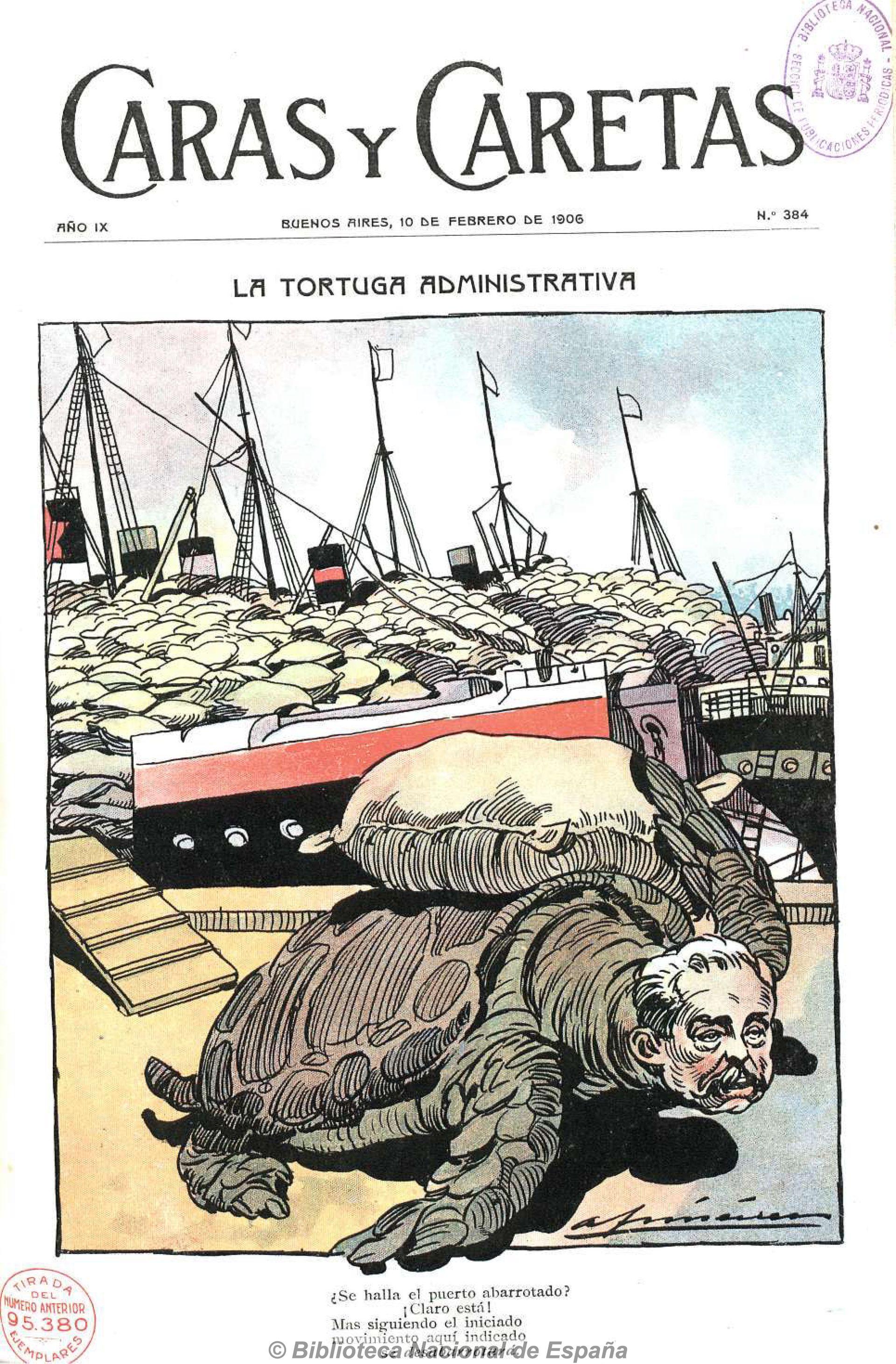El ministro José A. Terry era criticado por los medios. Le endilgaban la saturación del puerto.