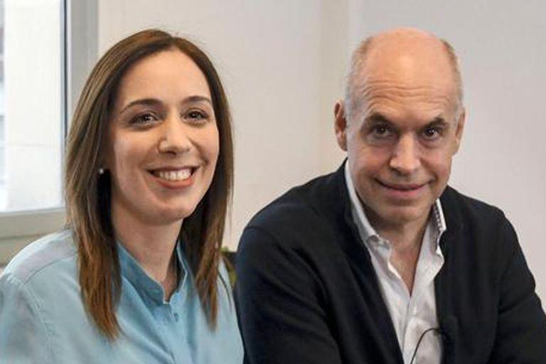 La mandataria bonaerense y el jefe de Gobierno porteño, juntos, en busca de engrosar las arcas públicas