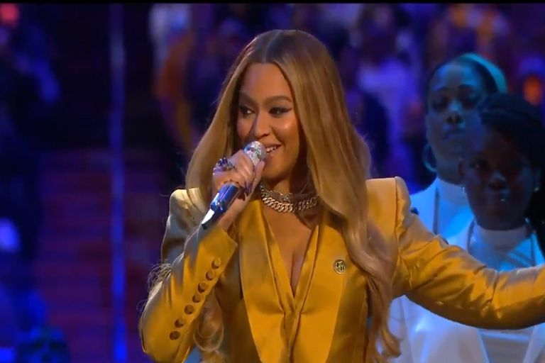 Kobe Bryant: Beyoncé cantó su canción favorita y conmovió a todos en su funeral