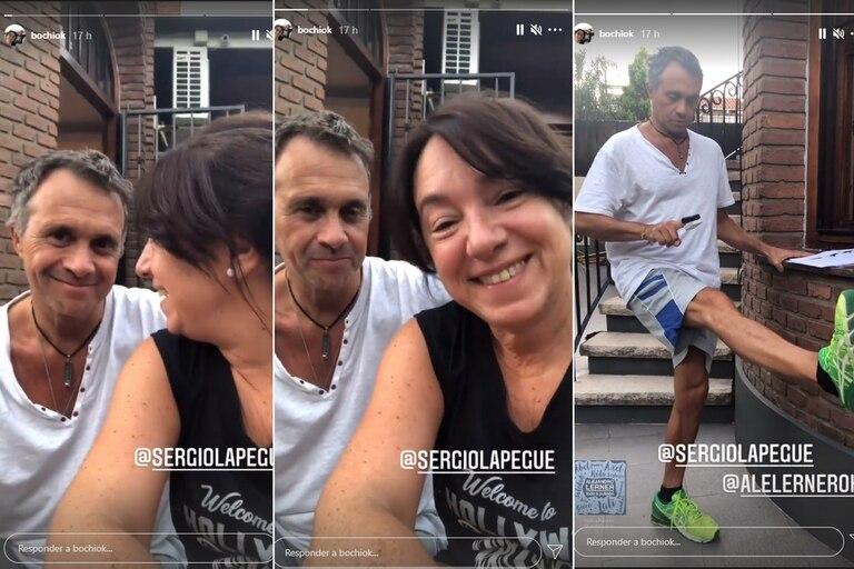Sergio Lapegüe mostró cómo sigue su recuperación en su hogar, tras haber estado internado tres semanas por Covid-19