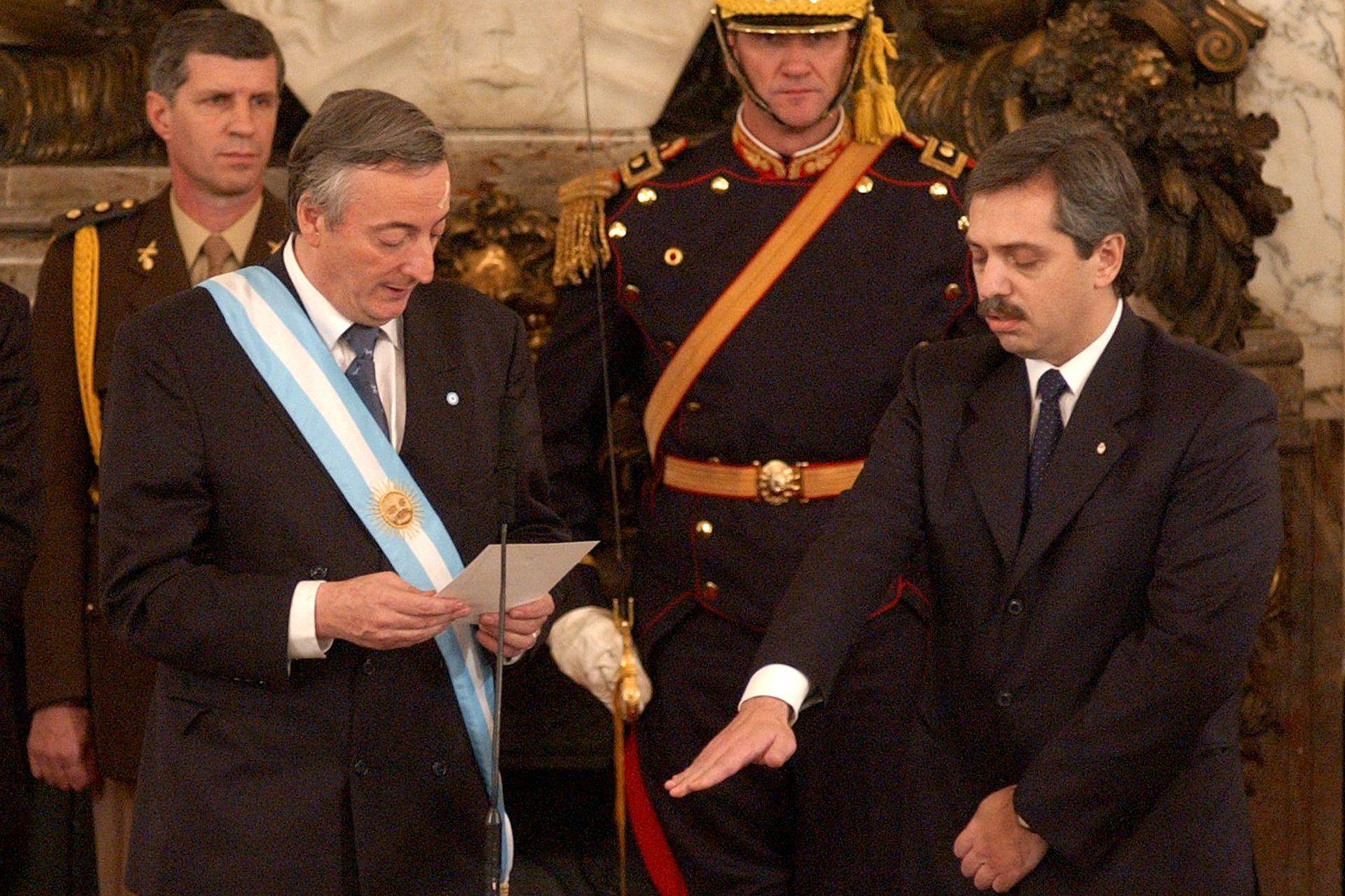 Néstor Kirchner y Alberto Fernández
