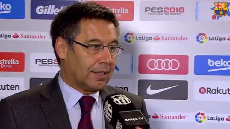 El presidente del Barcelona habló de la decisión que tomó el club