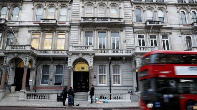 La firma Orbis, donde trabaja Chistopher Steele, tiene sede en Londres