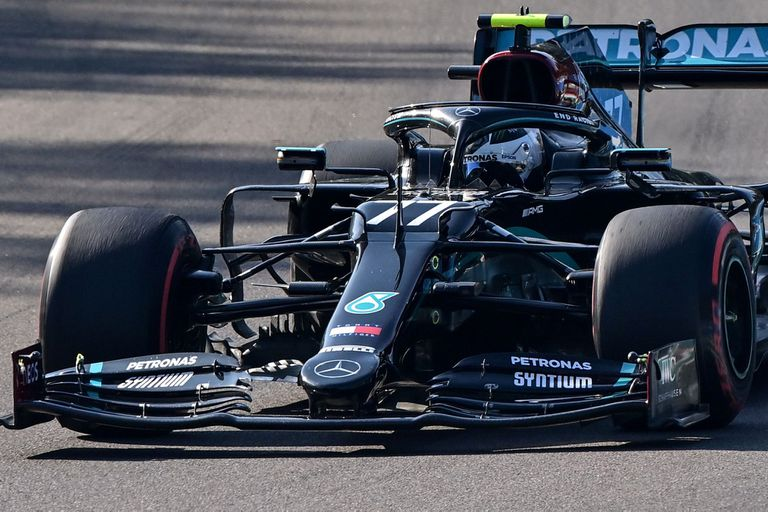 Fórmula 1: Mercedes voló en Imola y se acerca al título de Constructores