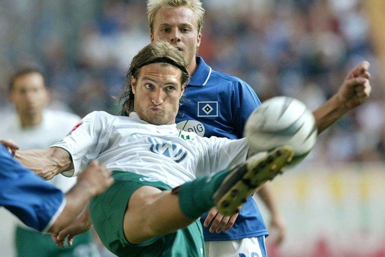 Diego Klimowicz, el papá de Mateo, fue una figura destacada en el fútbol alemán, donde se convirtió en el argentino más goleador de la historia de la Bundesliga