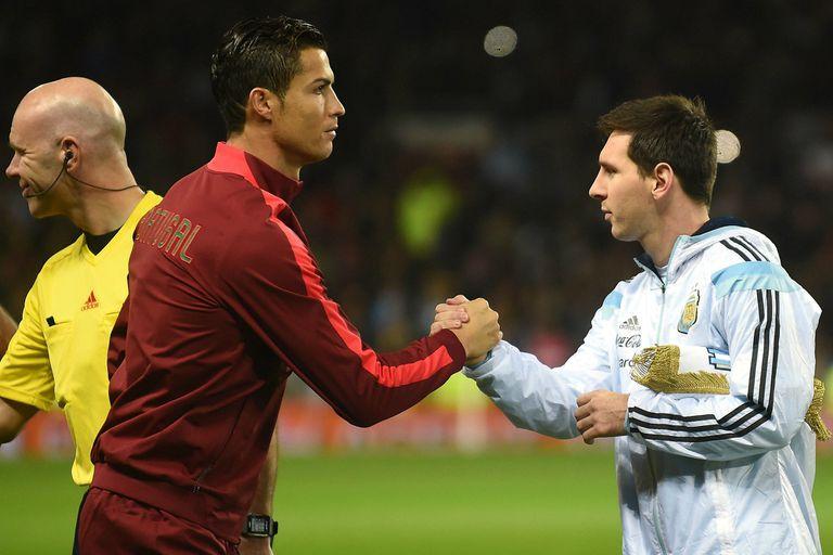 Argentina frente a Portugal, sin la sombra del duelo entre Messi y CR7