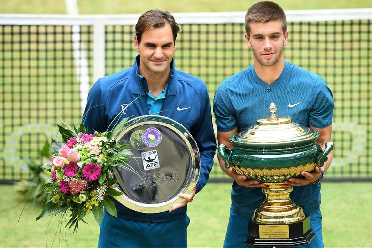 ATP Halle: Federer perdió la final con Coric y cedió el número uno del ranking