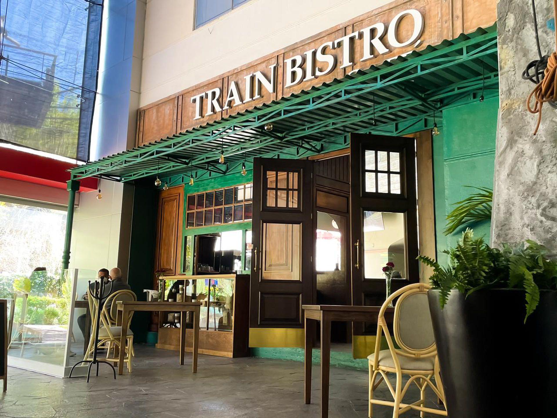 Train Bistró es un restaurante inmersivo.