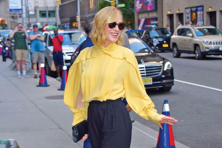 Cate Blanchett. Marcó récord de estilo: seis cambios en 24 horas