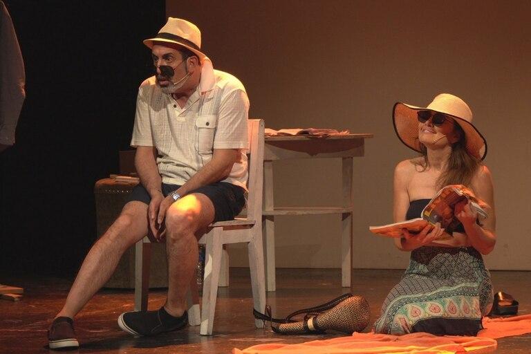 Alejandro Fiore y Verónica Varano, encarnan al matrimonio en cuestión