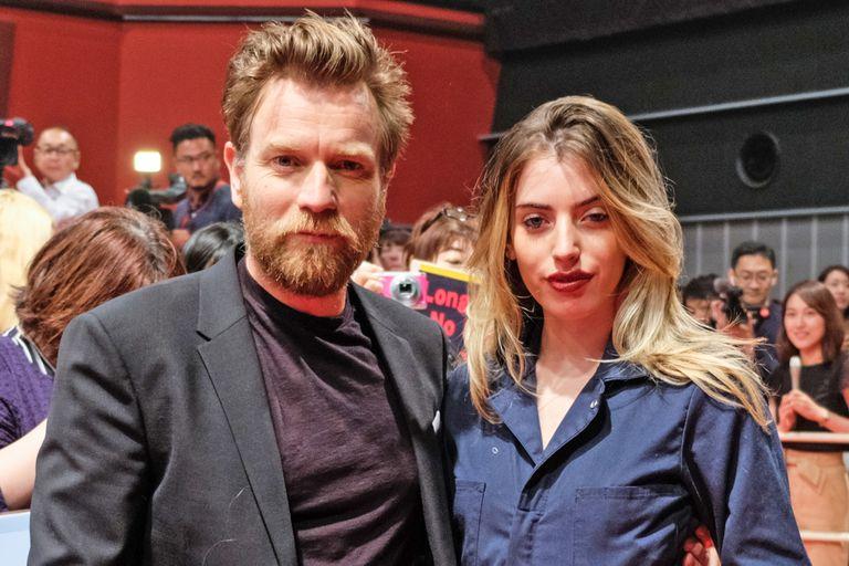 Ewan McGregor y su hija Clara McGregor en 2018
