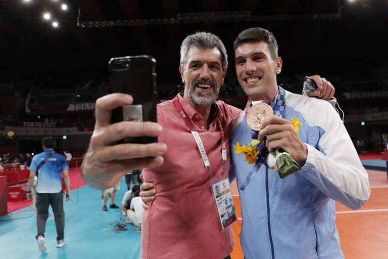 Hugo y Facundo Conte, una dinastía de bronce