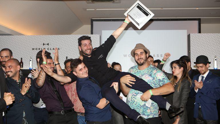 El primer desafío de World Class, el mundial de coctelería de lujo, tiene a su ganador: Matías Granata