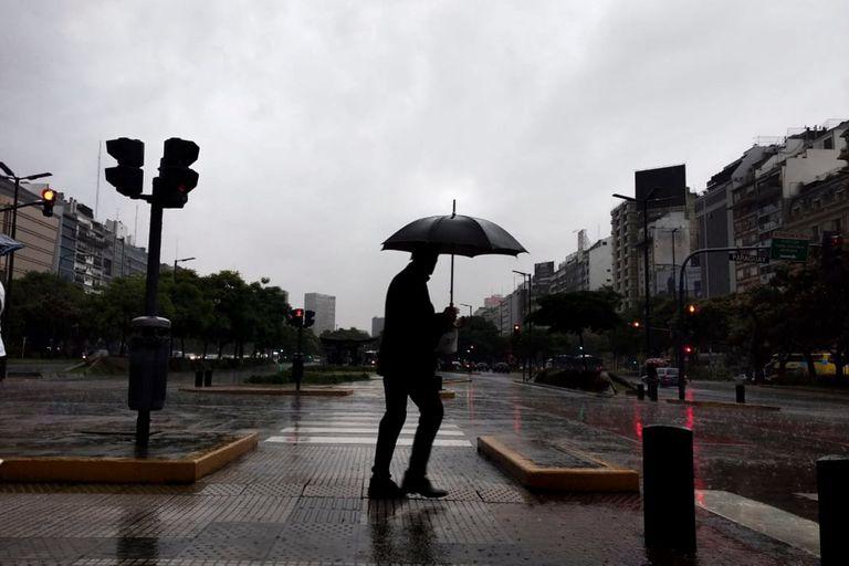 Pronóstico del tiempo: graniza en la Ciudad y algunas zonas de la Provincia