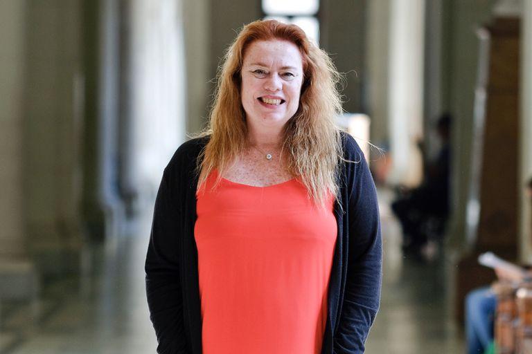 Valeria Bergman, de 51 años, explica que, entre otros objetivos, apuntará a implementar la ley de educación sexual integral en los contenidos