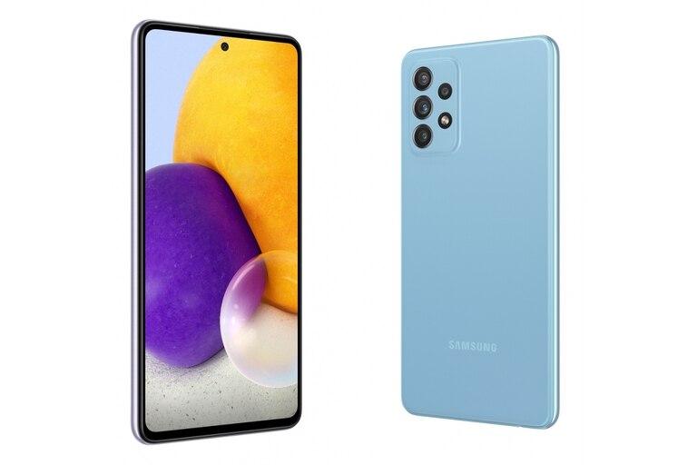 As son los Galaxy A72 de Samsung